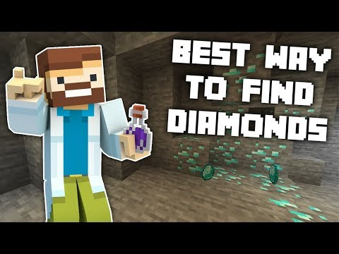 Minecraft: Scientifically Proven Best Way To Get Diamonds! - 1.14