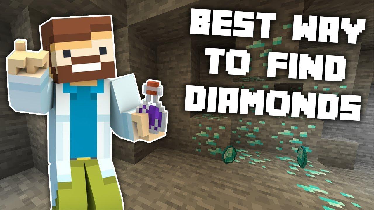 Minecraft: Scientifically Proven Best Way To Get Diamonds! - 11.111