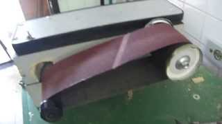 Lixadeira de cinta caseira DIY