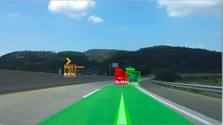 Car detection & tracking and lane detection openCV