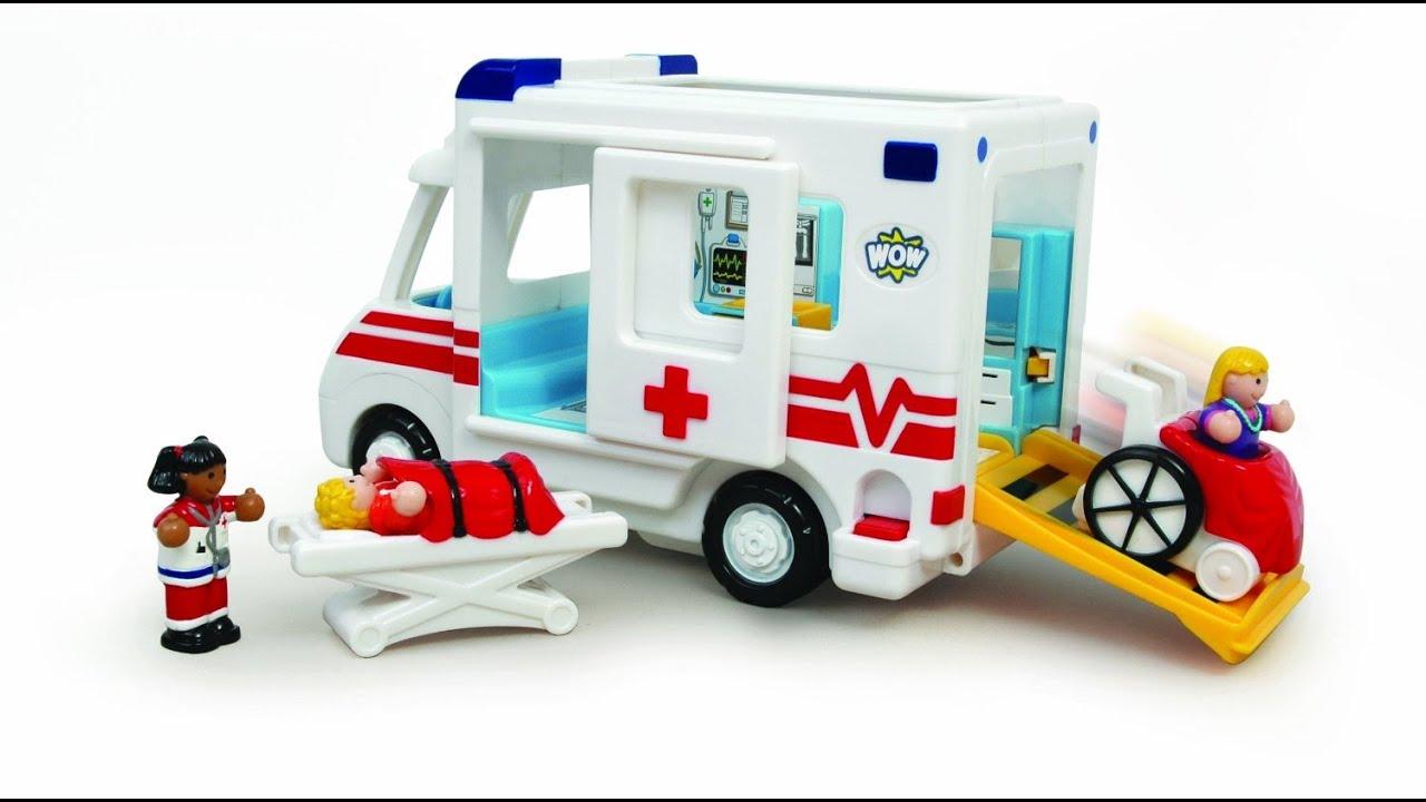 ambulances jouets dessin anim pour les enfants youtube. Black Bedroom Furniture Sets. Home Design Ideas