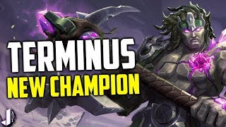 Terminus Paladins New Champion - Melee Axe Wielder with Revive!