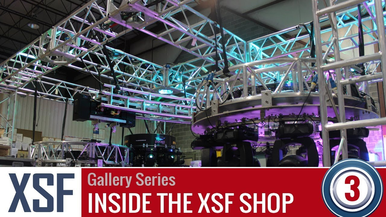 The XSF Shop -Aluminum Truss Manufacturing - Video Gallery | Episode #3