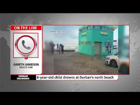 7 year-old girl drowns at Durban's north beach