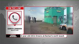 7 year-old girl drowns at Durban's north beach