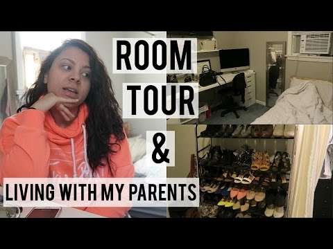 VLOG | Room Tour & Adjusting To Living With My Parents