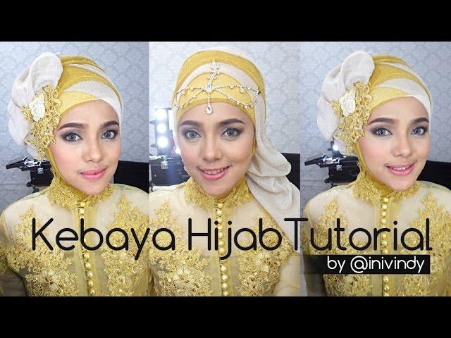 Tutorial Kebaya Hijab By Inivindy Elsa S Hijab Fashion