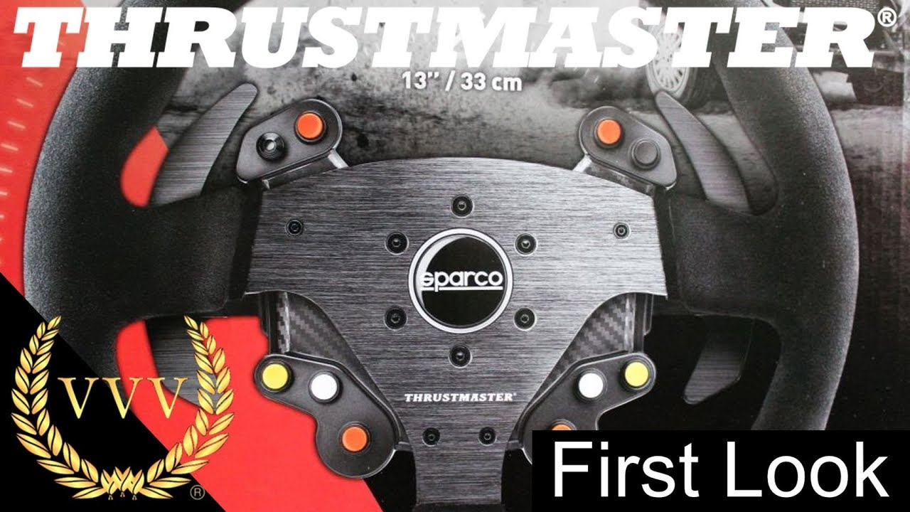 Thrustmaster Sparco R383 Rally Wheel