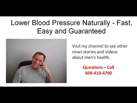 Lower High Blood Pressure Without Medication