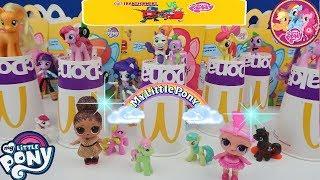 Lol Bebeklerle Mcdonald's Bardaktan Ne çıkarsa My little Pony oyuncak  challenge! Bidünya Oyuncak