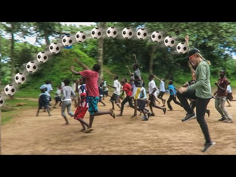 MUDDY FOOTBALL IN ZAMBIA !!