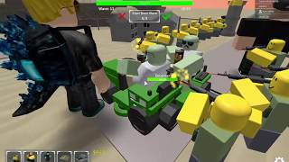 Roblox TDS - Area 51 TRIUMPH (with 4 players)