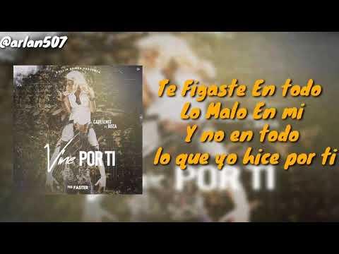 Boza Ft Carlienis - Vine Por Ti (Video Lyrics)