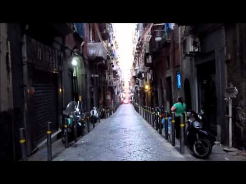 Walking in Naples (Italy)