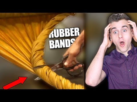 How Rubber Bands Are Made