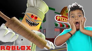 Anwar and Leah Escape Papa Pizza's Pizzeria Obby! in Roblox