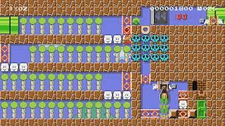 Necky Dash Cave-Speedrun 40sec. by Sady - Super Mario Maker - No Commentary