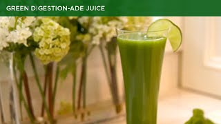 Green digestion ade Juice