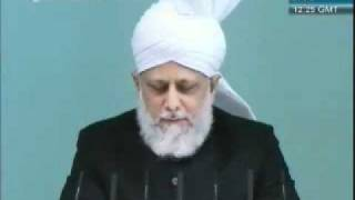 Changements pieux en les nouveaux convertis à l'Islam Ahmadiyya - semon du 02 septembre 2011.