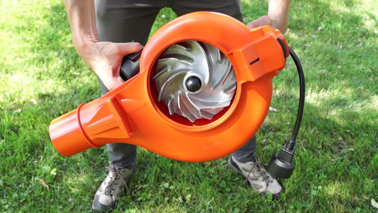 Best Leaf Blower Vacuum Mulcher : New best leaf blower vac mulcher bv test