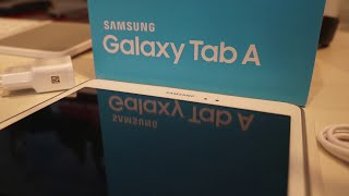 Samsung Galaxy Tab A 9.7 (2015) - Unboxing - MusicVersion