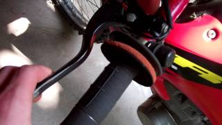 Clutch cable adjustment - subscriber request