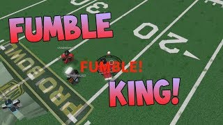 FUMBLE KING! [Roblox NFL Funny Moments #6]