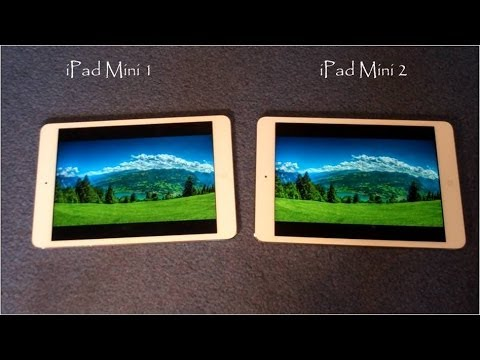iPad Mini 1 vs iPad Mini 2 :Comparison - YouTube