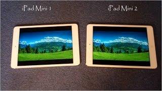 iPad Mini 1 vs iPad Mini 2 :Comparison