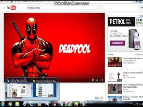 #eğitim videoları {YOUTUBEDEN WİNAMP'A ŞARKI YÜKLEME} !! DEADPOOL