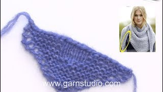 How to cast off with double yarn
