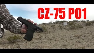 cz 75 p 01 first 20 rounds 1 23 2016