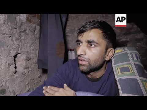 Migrants seek shelter in Thessaloniki's ancient walls