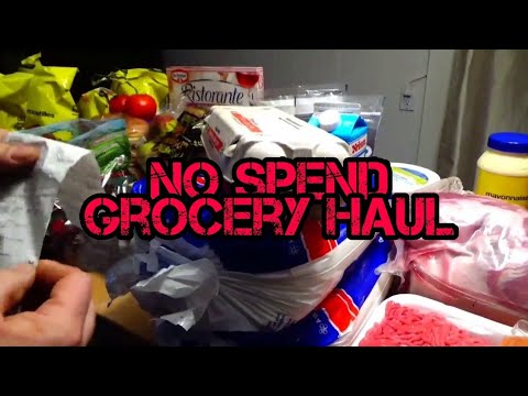 Grocery Haul | 2019 Passive Income No Spend | Second Week Of January 2020