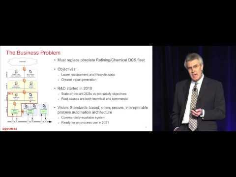 Open Process Automation Keynote -  Don Bartusiak of ExxonMobil @ ARC Orlando Forum 2017