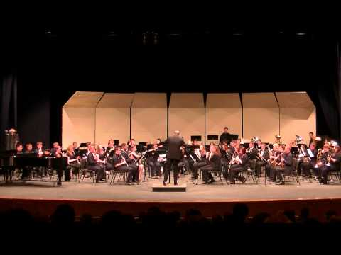 GVSU Concert Band - Their Blossoms Down by Samuel R Hazo