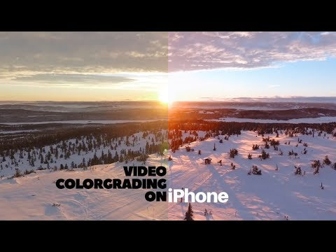 How to Color Grade Videos on iPhone like Professionals   Free LUTs   Film look on iPhone   July 2017