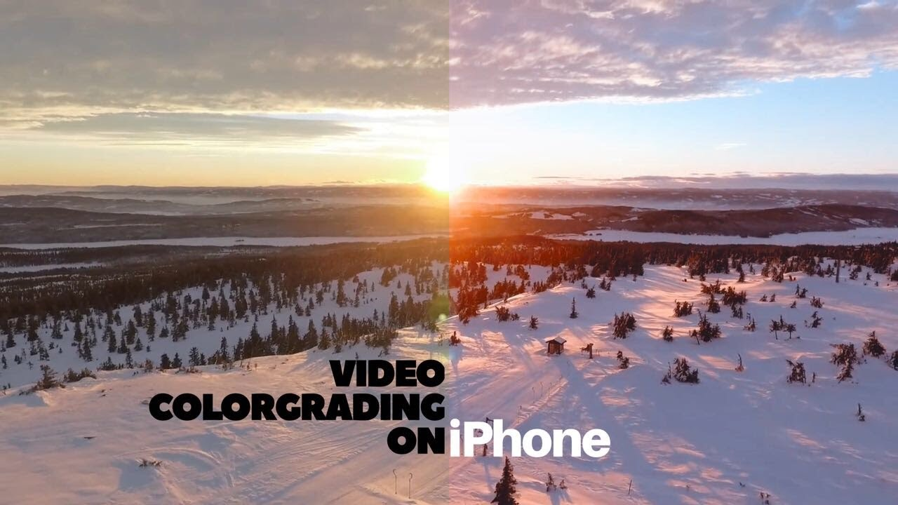 How To Color Grade Videos On Iphone Like Professionals Free Luts