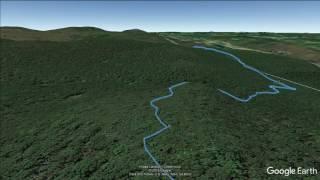 Alander Mountain (Copake, NY) - hİke flyover