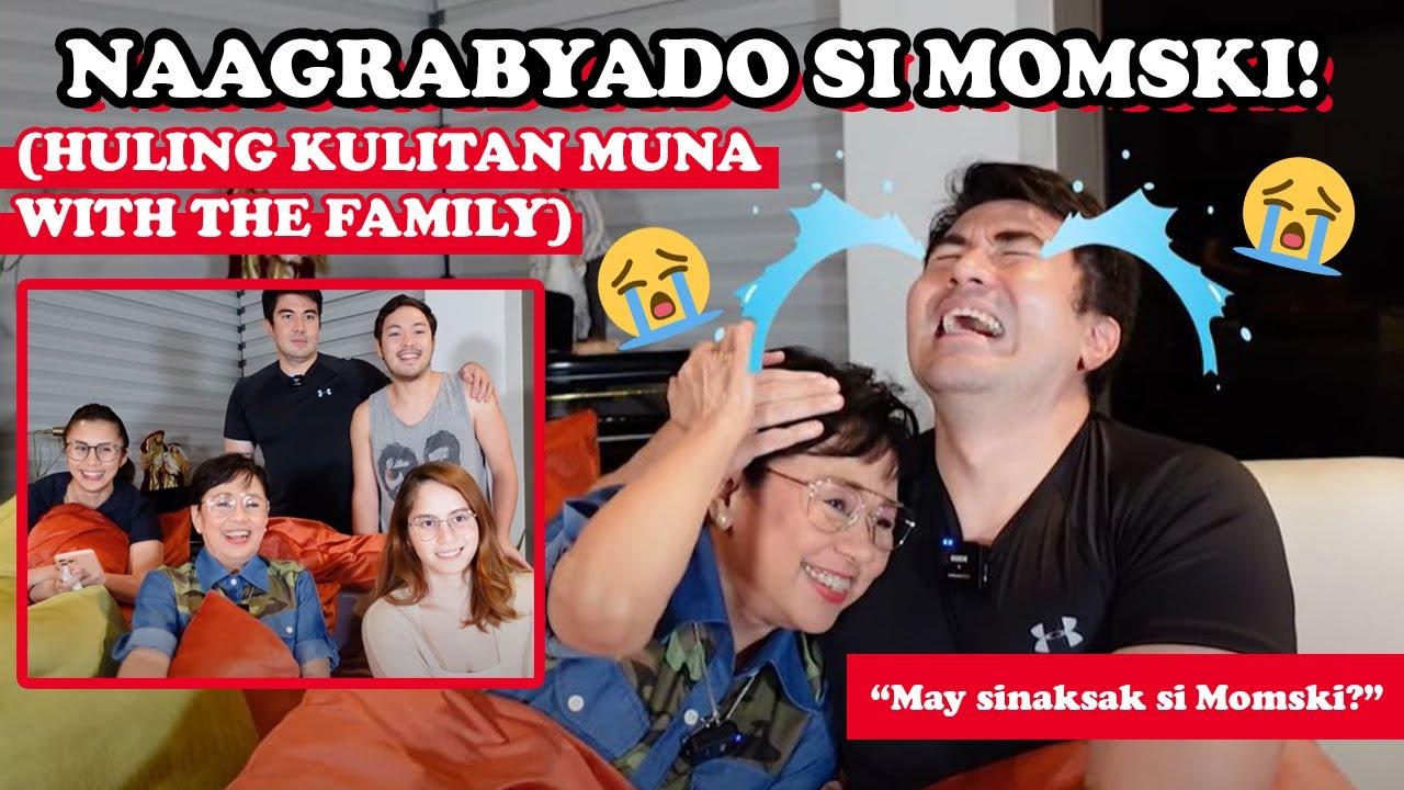 NAAGRABYADO SI MOMSKI! (Huling Kulitan muna with the Family)   Luis Manzano