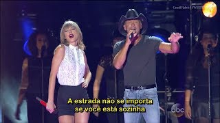 Taylor Swift Highway Don't Care Feat. Tim McGraw e Keith Urban Legendado PT-BR | SWIFTIES BRASIL