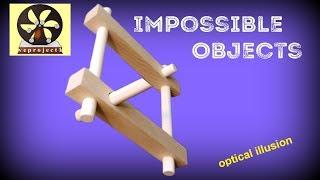 Impossible objects   不可能立体の作り方 錯視を利用 thumbnail