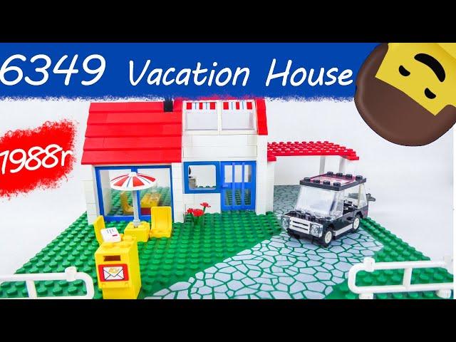 LEGO TOWN 6349 Vacation House / Recenzja setu z 1988 roku / KBL