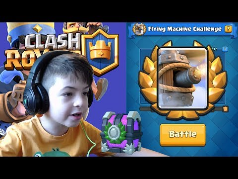 FLYING MACHINE DRAFT CHALLENGE - Clash Royale