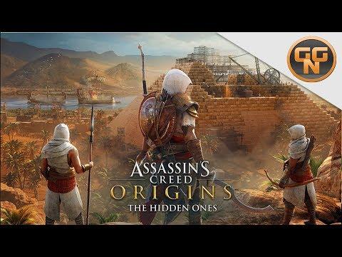 Assassins Creed Origins DLC Die Verborgenen - Livestream mit Goody