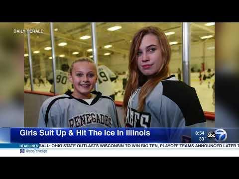 Daily Herald: Women's hockey increasing in popularity