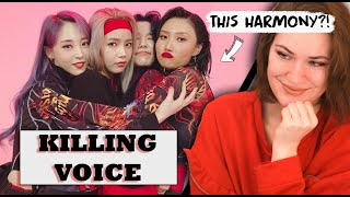 MAMAMOO - KILLING VOICE with perfect HARMONY - Vocal Coach & Professional Singer Reaction