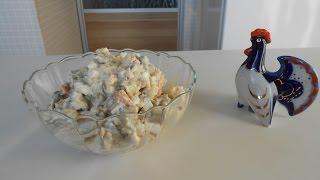 Оливье или мясной салат с говядиной