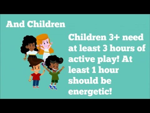 Early Years Physical Activity Tips For Children Aged 5