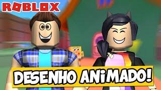 A CASA DOS DESENHOS ANIMADOS! -Roblox (a casa do divertimento dos desenhos animados Obby)